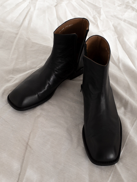 SQUARE TOE MOOD ANGLE BOOTS(245-285)