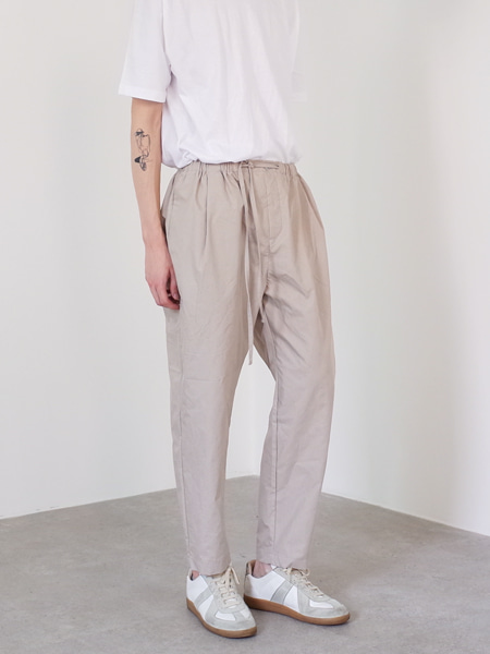 tapered banding pants(3colors)