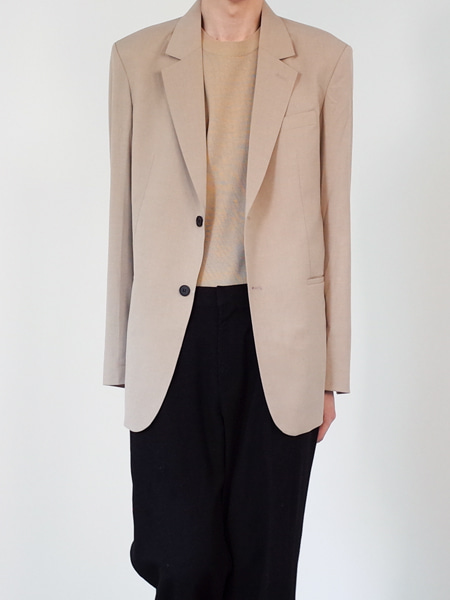 mood over fit blazer (3colors)