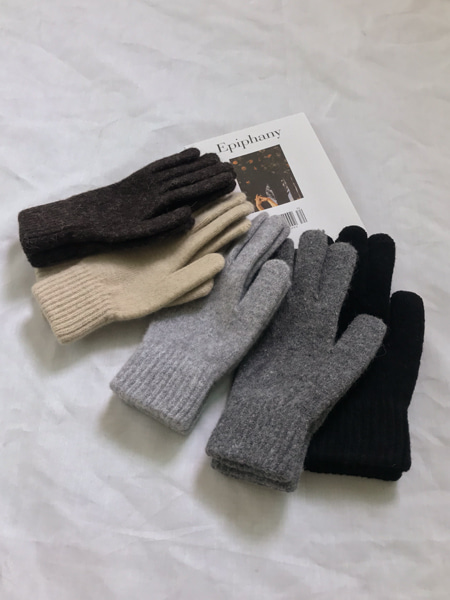 daily wool gloves(5colors)